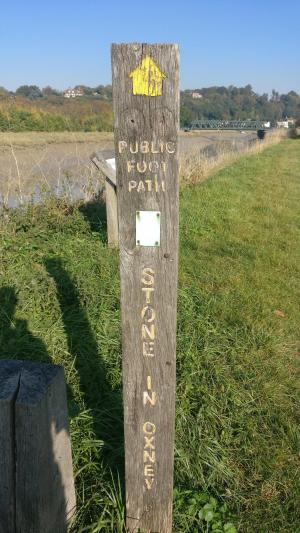Sussex Border Path start in Rye